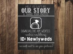 Hey, I found this really awesome Etsy listing at https://www.etsy.com/listing/229914293/wedpics-sign-wedpics-login-wedding