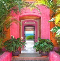 Las Alamandas, Jalisco Mexico You are in the right place about tropical garden ideas planters Here w Mexico Resorts, Beach Resorts, Mexican Style, Belle Photo, Pretty In Pink, Places To Go, Beautiful Places, Beautiful Life, Simply Beautiful