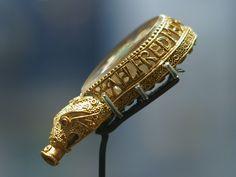 The Alfred Jewel, late IX century artifact