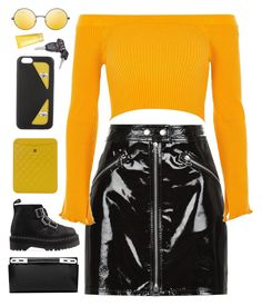 """""""Sunset"""" by mode-222 ❤ liked on Polyvore featuring rag & bone, River Island, Loewe, Dr. Martens, Chanel, Fendi, Topshop and Clinique"""
