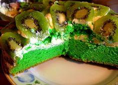 Vougelisha : Cytrynowe ciasto z kremem z serka mascarpone i z k...
