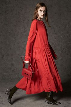 2016 Gallery43 Bright colored long dress