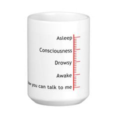 Now you can talk to me coffee mug