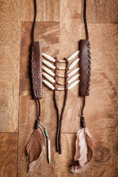 Southwestern Necklace - Feathered Western Necklace Inspired by Native American Breastplates. $98.00, via Etsy.