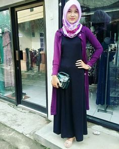 Muslim Fashion, Hijab Fashion, Casual Hijab Outfit, Hijab Tutorial, Kids And Parenting, Outfits, Opi, Style, Clothes