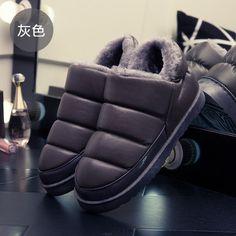2016 Новая Зимняя обувь женские унисекс искусственная кожа зимние сапоги женская обувь на плоской подошве водонепроницаемые ботинки теплые ботильоны модная женская обувь купить на AliExpress