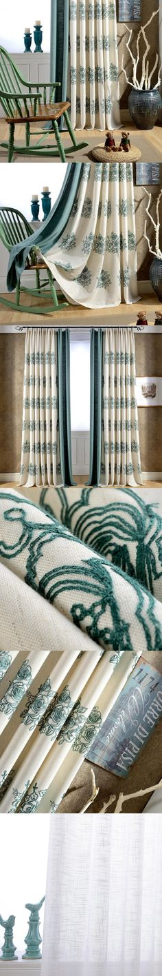 Kitchen Promotion Curtain Real Luxury Cortinas Para Sala De Estar Home Cotton For Bedroom Finished Balcony Custom Tulle $48.99