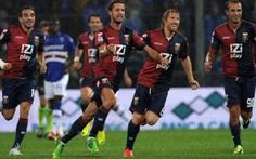 Al Genoa il derby della Lanterna! Battuta la Samp per 3 a 0! #calcio #genoa #sampdoria #posticipo