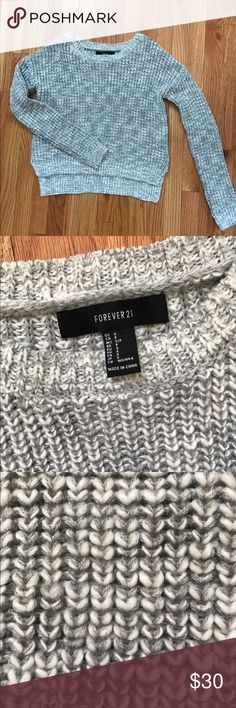 Sweater Forever 21 knit sweater. New without tags. Front is a tad shorter then the back.. super cute with a pair of distressed jeans with a statement necklace, or paired with a pair of shorts and lace up sandals for a cool summer night. Sweaters Crew & Scoop Necks