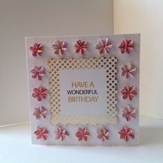 Card designed by Neil Burley using Midas sentiments and cardstock and Create with Candi.