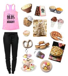"""""""I'm always hungry🍰🍔🍱🍳🍯🍟🍫🍢🍇🍓🍒🍲🍛🍕🍩🍤"""" by weird-unique101 ❤ liked on Polyvore featuring interior, interiors, interior design, home, home decor, interior decorating, T By Alexander Wang, ThinkGeek, OXO and Sin"""