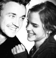 Draco & Hermione. Darn you Rowling for changing your mind halfway writing the series!! They belong together!!!