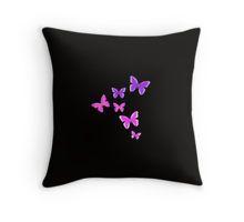 Throw Pillow: #Fibromyalgia #Purple Butterflies by @Hopasholic