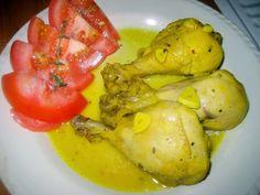 LAS RECETAS DE MAMA ROSA: Jamoncitos de pollo guisados al tomillo