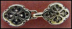 Oaxaca jewelry clasp from RWG Buttons