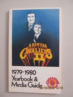 1979-1980 CLEVELAND CAVALIERS CAVS NBA BASKETBALL YEARBOOK MEDIA GUIDE NEW ERA #mediaguides