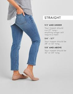 Guide to Denim Inseams for Women | Stitch Fix Style