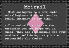 The moirail quadrant of Alternian romance explained. Examples of moiraillegiance: Karkat/Gamzee, Nepeta/Equius.