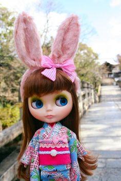Blythe in Kyoto