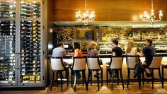 wine bar interior design ideas - lighter room