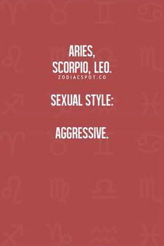 Scorpio rising sign sexuality