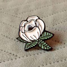 Magnolia Enamel Pin