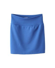 High-rise Solid-tone Skirt