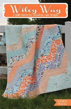 Wiley Way Quilt Pattern - Sassafras Lane Designs