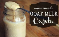 Homemade Goat Milk Cajeta - Faulk Farmstead  ... This looks amazing! You better believe this will be happening once we get us some dairy goats around here:)