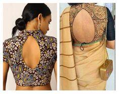 Beautiful Kalamkari blouse designs can add style statement to even a simple saree. Kalamkari Blouse Designs, Saree Jackets, Simple Sarees, Saree Blouse, Latest Trends, Blouses, Pattern, Beautiful, Dresses