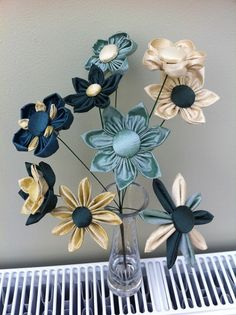 Silk flowers for my