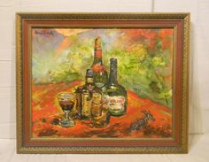 PNT-012 Painting by Henri Rathle | Plantation Antique Galleries — 604 Bel Air Blvd., Mobile AL 36606 — (251) 470-9961