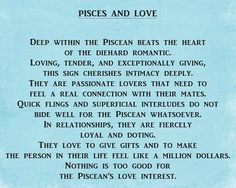 Fiercly loyal. #Pisces. See all signs here: http://neurolove.me/post/29103880839/zodiac-signs-and-love