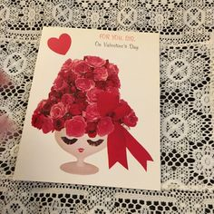 Vintage Greeting Card Front Valentine Hat Roses Face Anthropomorphic FOR SALE • $2.49 • See Photos! Money Back Guarantee. This is an auction for a cute card front. It is just the front of the card. Winning bidder pays 2.50 for shipping and handling in the U.S. Payment needs 381943646162