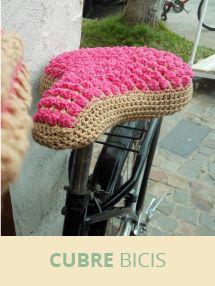 cubre bici  en crochet