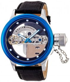 Invicta 14309 Russian Diver Ghost Blue Automatic Skeleton Watch For Men