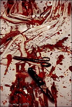 Blood? by *shiver, via Flickr