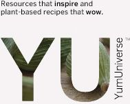Yum Universe: plant-based recipes, resources and tips for a gluten-free, raw, vegan diet