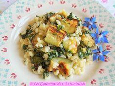 Les Gourmandes Astucieuses (Cuisine végétarienne, bio, saine et gourmande, Faite maison): Salade de pâtes aux courgettes grillées (Vegan)