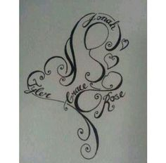 Simple and beautiful breastfeeding tattoo for a nursing mom!