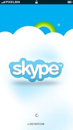 Skype Redesign Web Apps by Mukhtar Rizvi, via Behance