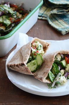 Greek Flavored Butter Bean Salad