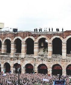 #fromthebottomofthestairstothetopoftheworld Verona, Italy