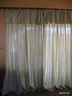 Cuffed curtain