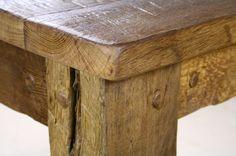 Möbel - ESSTISCH aus alter Eiche absolutes Unikat - ein Designerstück von Udo-Hermann-Diederichs bei DaWanda