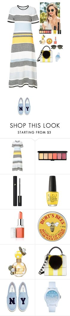 """""""Summer 2017"""" by eliza-redkina ❤ liked on Polyvore featuring Novis, Lancôme, OPI, Clinique, Marc Jacobs, Les Petits Joueurs, Joshua's, Lacoste, Ray-Ban and StreetStyle"""