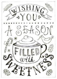 A Season of Sweetness via Anais Lee // holidays