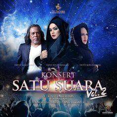 Konsert Satu Suara Volume 2 Dato' Siti Nurhaliza dan penampilan khas Hetty Koes Endang dan Datuk Ramli Sarip.  Tiket untuk menonton konsert ini  akan mula dijual pada 9 Oktober  ini dan boleh didapati secara online di www.AirAsiaRedtix.com dengan harga RM78 RM108 RM218 RM238 RM258 RM278 RM338 dan RM518. Harga ini tidak termasuk caj tiket dan GST. Selain itu tiket boleh dibeli di Rock Corner The Gardens Bangsar Village Subang Parade dan The Curve. Tiket juga dijual di Victoria Music di…