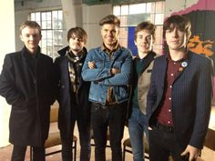 What's The Strypes style? Darren Kennedy asks the fashion questions on #TRENDING on @RTE2 at 8.30pm