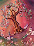 arbol filial Naive, Watercolor, Trees, Painting, Murals, Paintings, Artists, Grandchildren, Paint
